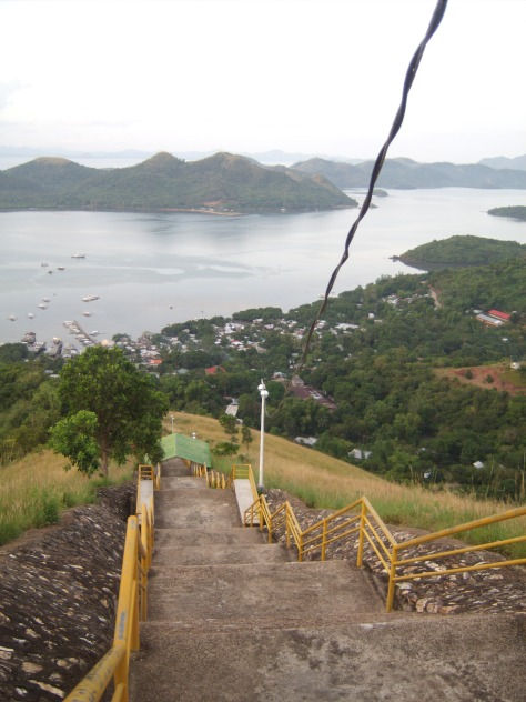 Stairway to Mt Tapyas Summit, Coron, Palawan, Philippines